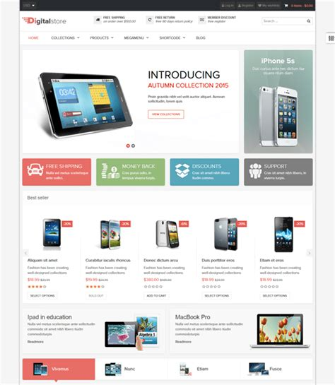 shopify themes mobile 50 awesome responsive shopify themes for mobile devices