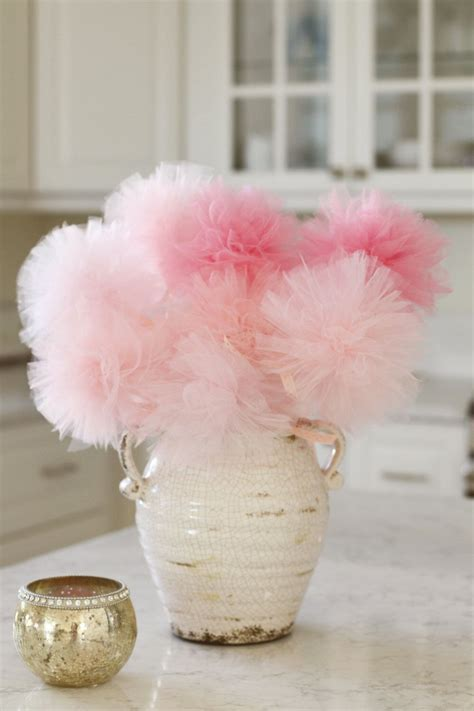 baby shower centerpiece pink ombre baby shower