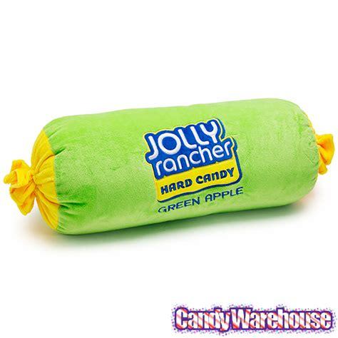 Jolly Rancher Pillow by Jolly Rancher Big Plush Pillow Green Apple