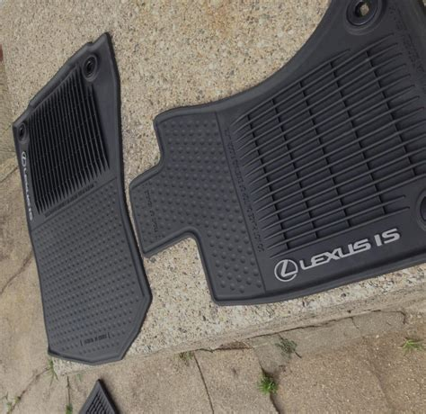 Lexus Is 250 Floor Mats by All Weather Floor Mats Club Lexus Forums