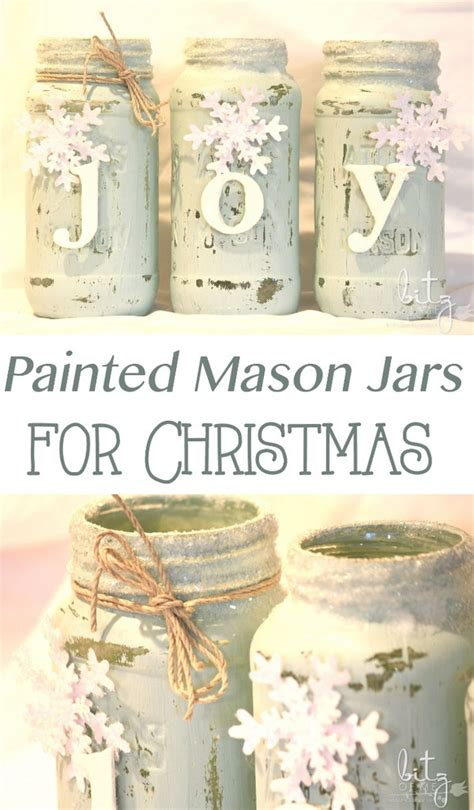 15 easy mason jar christmas decorations you can make
