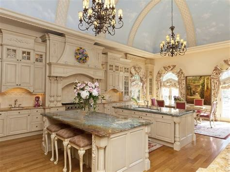 Glass Mosaic Tile Kitchen Backsplash Ideas by 24 Kitchens With Jaw Dropping Cathedral Ceilings Page 5 Of 5