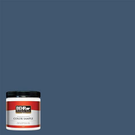 behr premium plus 8 oz 520d 5 tropical tide interior exterior paint sle 520d 5pp the home