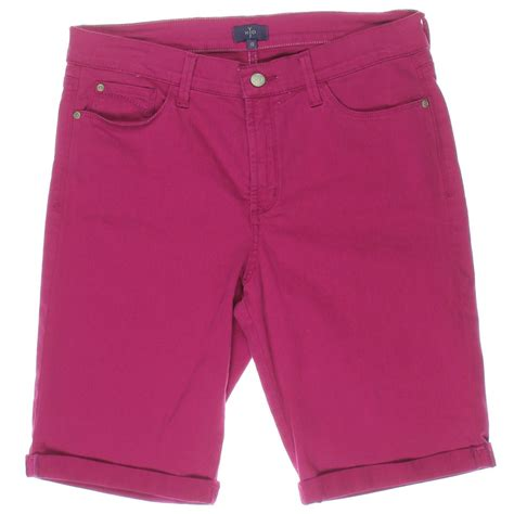 Cuffed Bermuda Shorts nydj 5211 womens slimming cuffed denim bermuda shorts bhfo