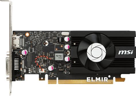 Msi Geforce Gt 1030 2gb Ddr5 2g Lp Oc видеокарта pci e 2gb geforce gt1030 ddr5 msi gt 1030 2g