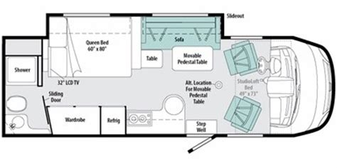 winnebago via floor plans 2011 itasca reyo 25r reviews winnebago motorhome reviews