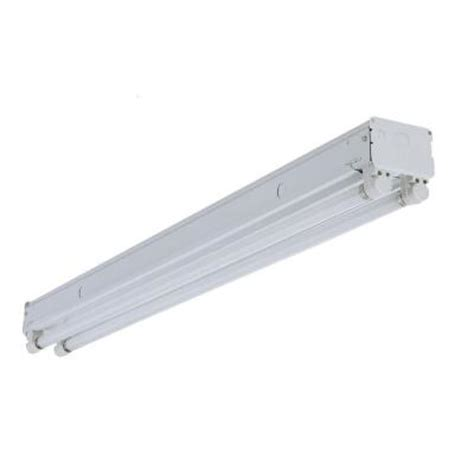 8 Ft Fluorescent Light Fixture Home Depot Lithonia Lighting 8 Ft 2 Light White Fluorescent Non Hooded Light Un296ho The Home Depot