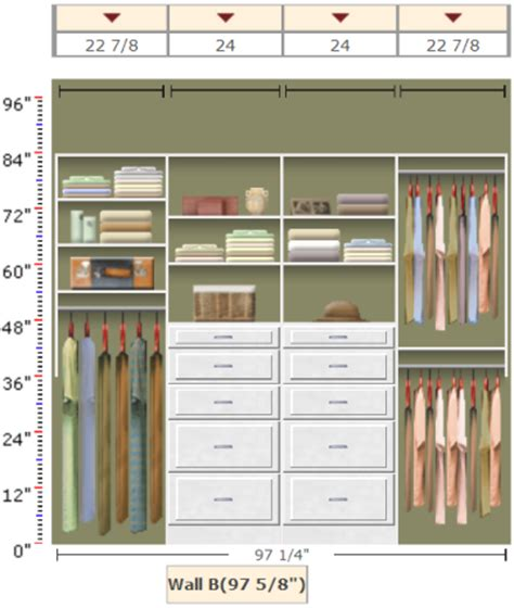 How To Organize A Shared Closet by Organizing A Shared Closet With Easyclosets Organizing