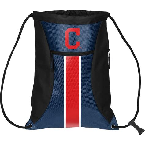 sports fan island coupon cleveland indians mlb big stripe zipper drawstring
