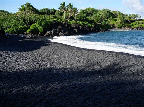 black sand nerds republic 5 reasons why black sand beaches rock