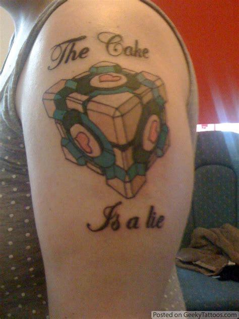 portal tattoo portal geeky tattoos