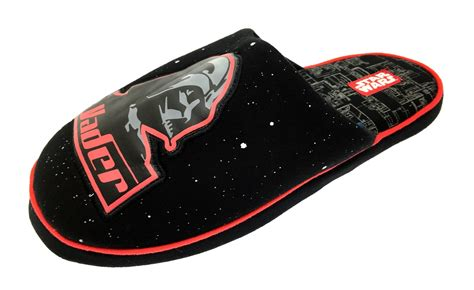 star wars house shoes mens star wars darth vader novelty slippers xmas mules boys shoes size uk 6 12