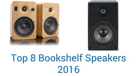 best bookshelf speakers 8 best bookshelf speakers 2016 youtube