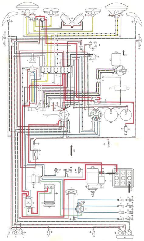 1965 vw beetle wiring diagram 29 wiring diagram images