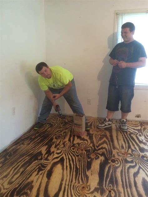 8 best Plywood Flooring images on Pinterest   Plywood