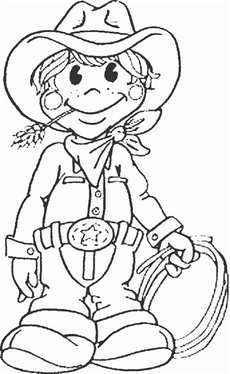 cowgirls coloring pages getcoloringpages