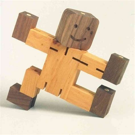 handcrafted unique wooden child changeable by stumppondtoy