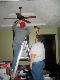 how does it take to install a ceiling fan gonna eat a lot of 11 07