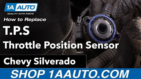 How To Install Tps | how to replace install tps throttle position sensor 06