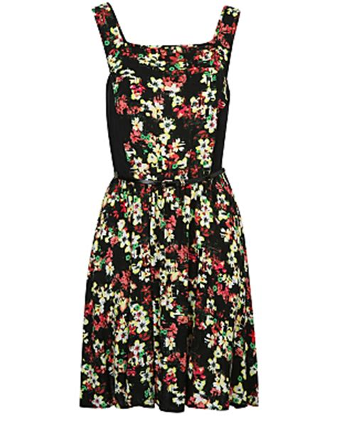 Floral Print Pinafore Dress g21 floral print pinafore dress george at asda