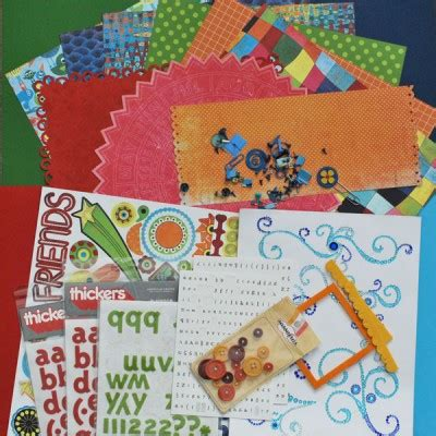 How To Make A Paper Scrapbook - make your own scrapbook page kits and speed up your