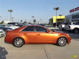 Orange Cadillac Lava Orange 2008 Cadillac Cts Lava Edition Sedan