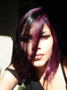 black n purple hair the luscious curlbombs purple and 1000 images about hilights and lowlights on pinterest