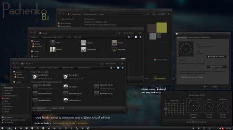 pc themes vs tradepac desktop pachenko theme full đen huyền b 237 cho win 8 1