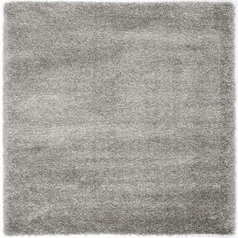 safavieh california rug safavieh california shag silver 4 ft x 4 ft square area rug sg151 7575 4sq the home depot
