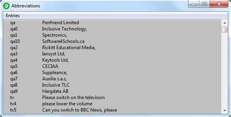mulitple expansions for a single abbreviation penfriend ltd