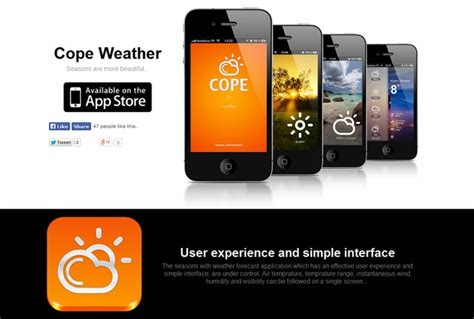 design inspiration mobile website 10 mobile app websites for design inspiration