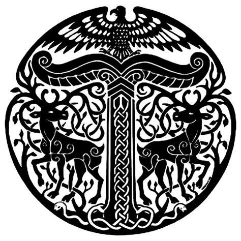 anglo saxon tattoos a rather irminsul just because