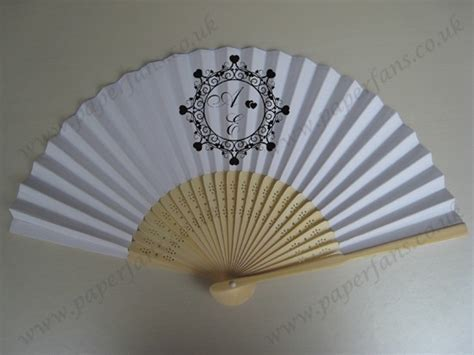 personalized paper hand fans custom paper hand fan wedding souvenir 0 74