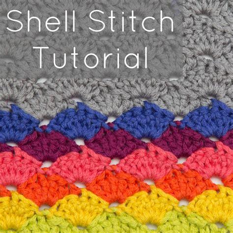 crochet shell stitch tutorial patterns