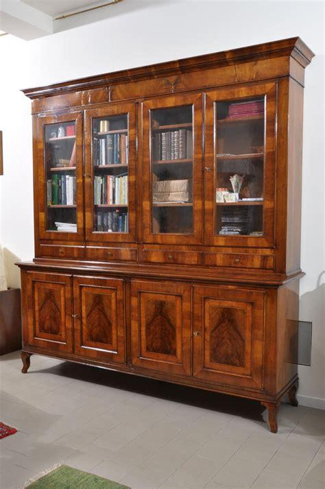 librerie veneto imponente libreria intarsiata di lusso in stile asolano