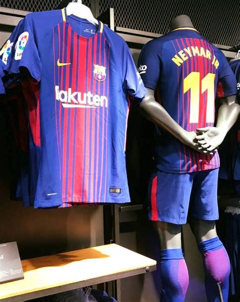 Hjersey Barcelona Home 2018 barcelona jersey 2017 2018 16 17 home away and third kits released footballplayerpro
