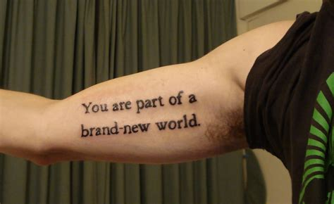 inner bicep quote tattoos for men inner bicep ideas and inner bicep designs