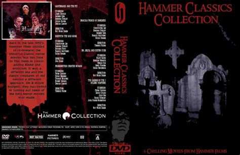 classic collection volume 4 0007430760 hammer classics collection volume 4 movie dvd custom covers 533hammer classics collection