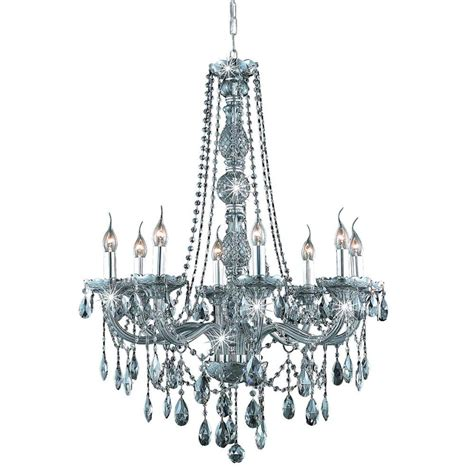 Grey Chandelier Shades Lighting 8 Light Silver Shade Chandelier With Grey El7958d28ss Ss Rc The Home