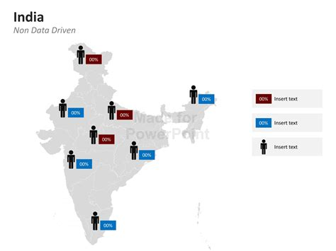Powerpoint Map Of India India States And Districts Are Easy To Edit India Map Ppt