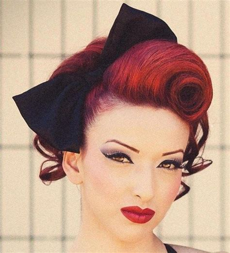 Pin Up Vintage Hairstyles by Best 25 Pin Up Hairstyles Ideas On Pin Up