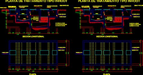 water treatment plant dwg detail  autocad designs cad