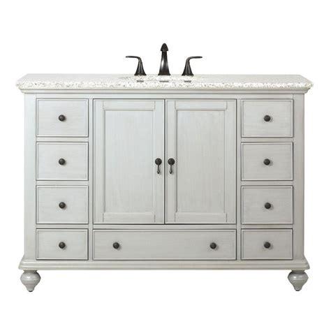 Home Decorators Collection Newport 49 In W X 21 1 2 In D Decor Bathroom Vanities
