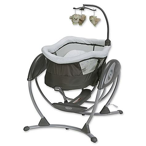 graco swing seat graco 174 dreamglider gliding seat and sleeper baby swing in