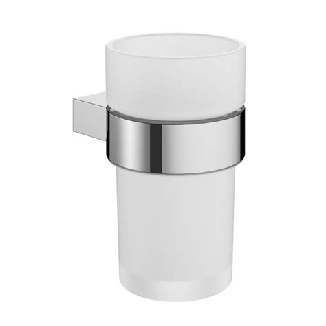 Crosswater Mike Pro Tumbler Holder Chrome Pro003c Crosswater Bathroom Accessories