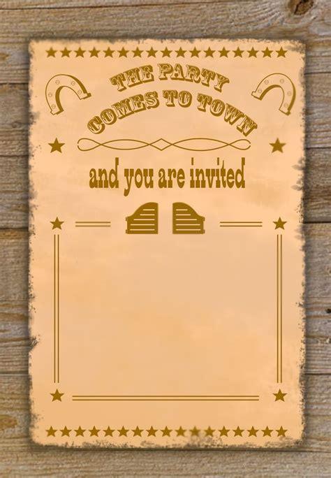 Http Www Google Com Blank Html Cowboy Party Pinterest Cowboy Birthday Free Printable Cowboy Invitations Template Free
