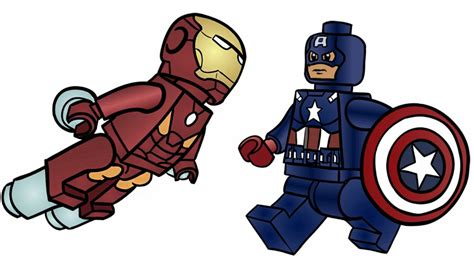 coloring pages lego captain america lego clipart iron man pencil and in color lego clipart