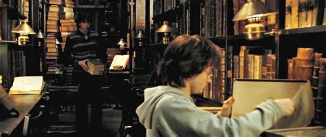 harry potter restricted section hogwarts library harry potter wiki