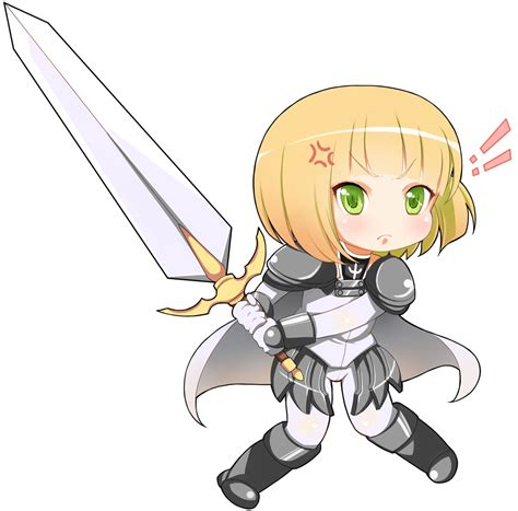 anime chibi chibi clare claymore anime and mang 225 photo 28808603