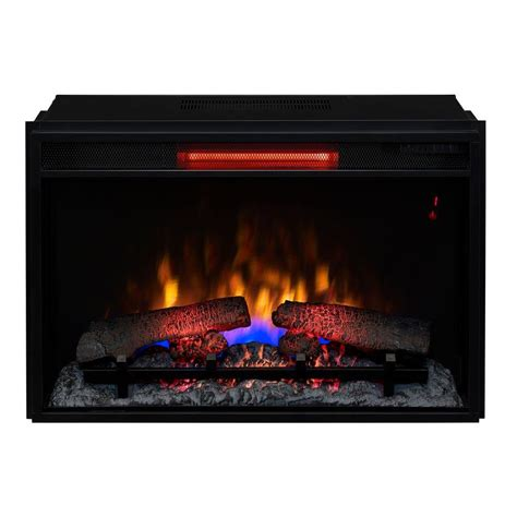 fireplace inserts trim kit singh 26 in infrared quartz electric fireplace insert with